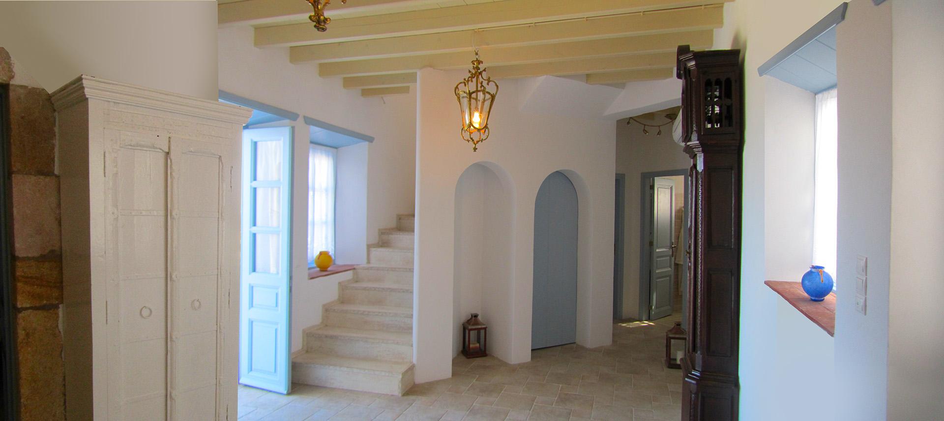 patmos villa interior